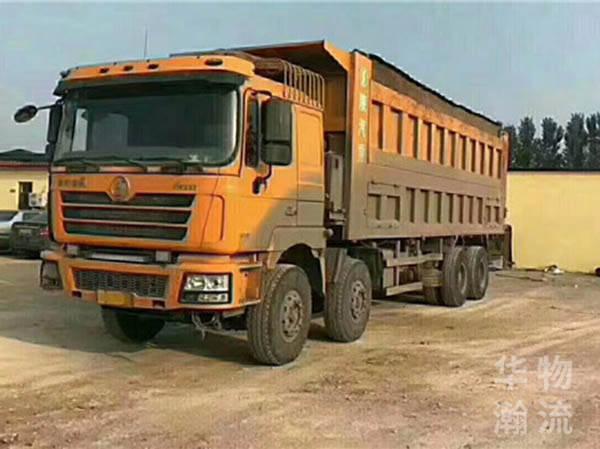 德龍八米五自卸車,國4排放375馬力