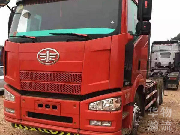 解放J6牽引車頭,國四,標載型420馬力
